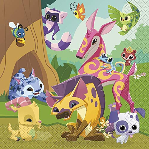 Animal Jam Various Characters Edible Cake Topper Image ABPID00228 - 1/8 sheet]()