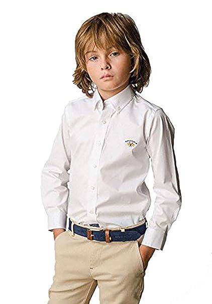 Spagnolo Camisa Cuello Boton Gabardina Basica 4068 (10 años)