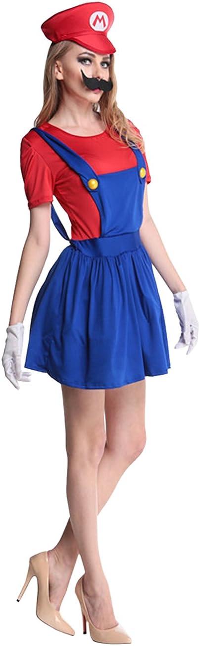 Ninimour - Disfraces de Super Mario Bros de mujer para Halloween ...