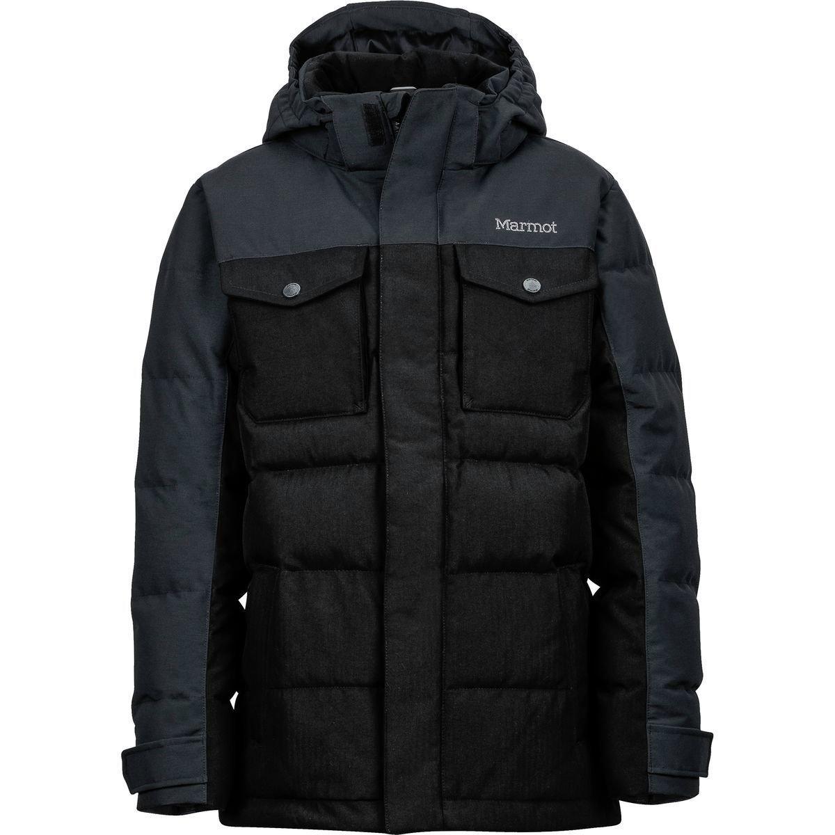 Marmot boys Fordham Jacket 73410-001_L - Black