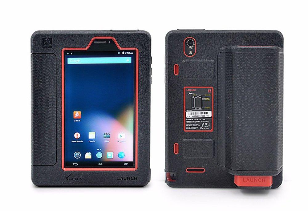 LAUNCH Lanzamiento X431 V + Android OBD2 escáner de diagnóstico Auto Coche Sistema Mundial versión con dbscarii Conector Bluetooth y WiFi Full 2 años ...