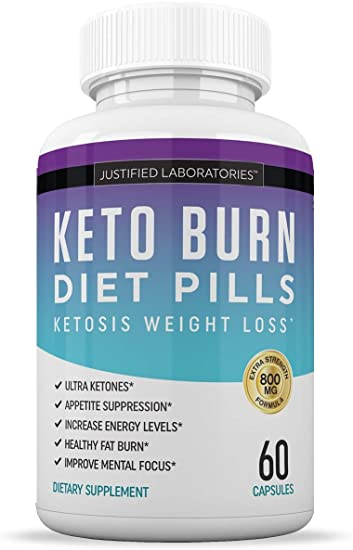 Amazon Com Keto Diet Pills Burn Shred Bhb Salts Advanced Ketogenic Supplement Exogenous Ketones Ketosis Weight Loss Fat Burner Boost Energy Metabolism Men Women 60 Capsules 1 Bottle Health Personal Care