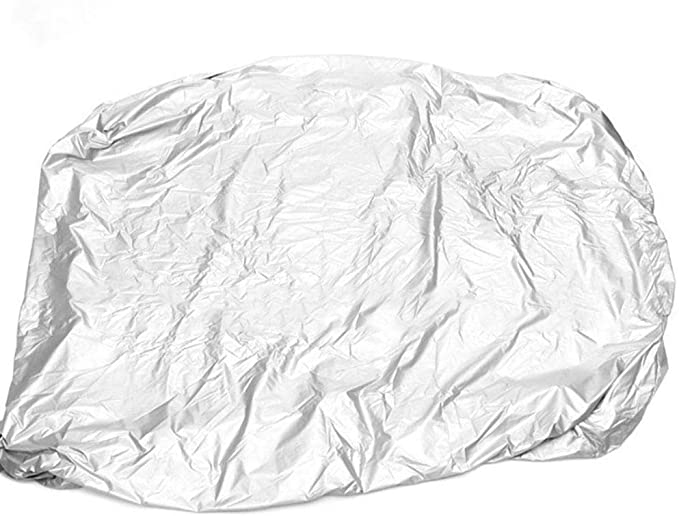 Silver Hot Tub Cover Round Anti-UV Protector Spa Cover Hard Weather Reliable UK
