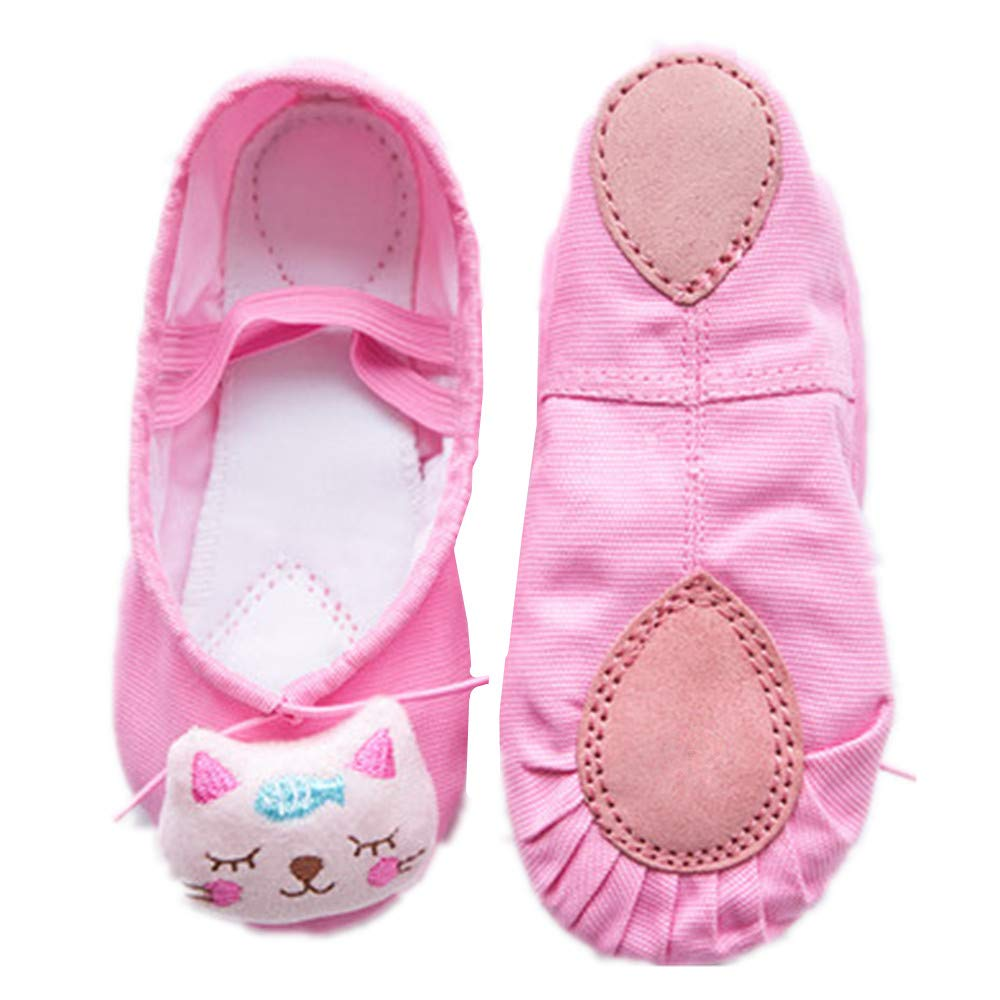 Ballet Shoes Slippers Classic Dance Slippers for Toddler Kid Girl