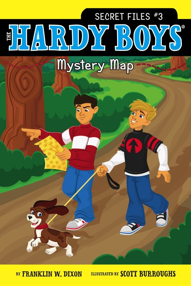 Download Mystery Map (Hardy Boys: The Secret Files) PDF