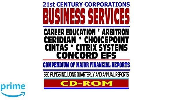 21st Century Corporations: Business Services - Career