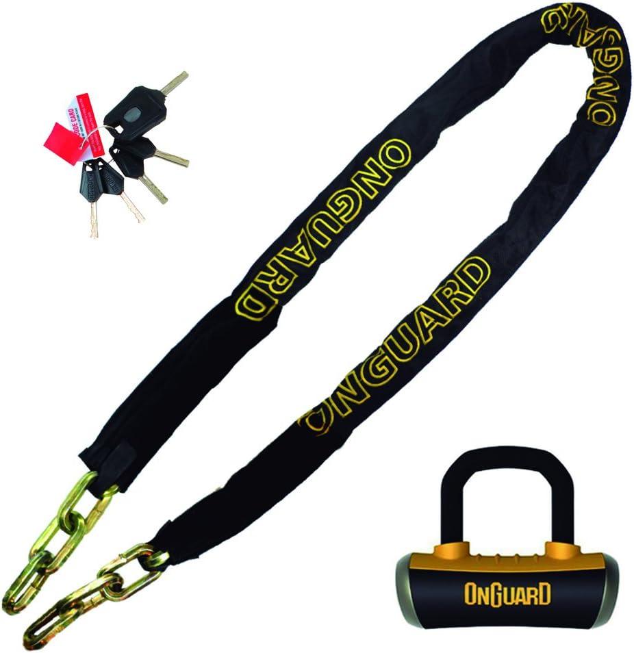 OnGuard 8019L Mastiff 6 x 3 8 Quad Chain Lock