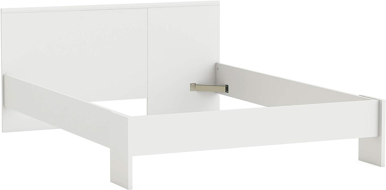 FMD Moebel GmbH Estructura Cama Plaza y Media, 145 x 190 ...