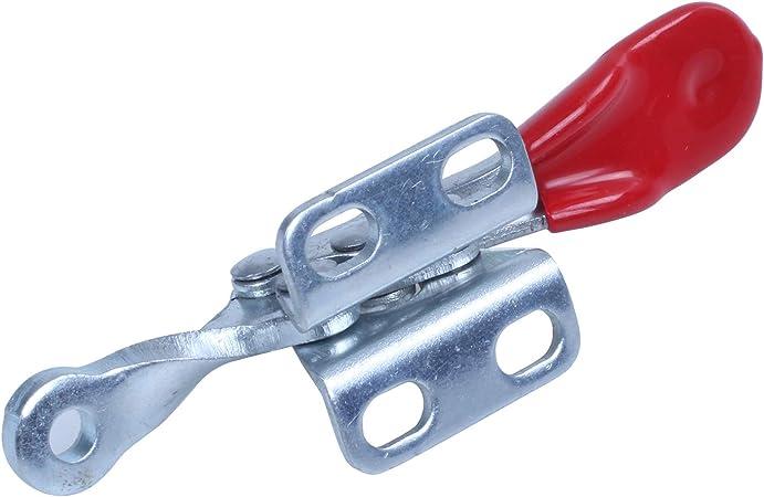 WOVELOT 1 PC 27 Kg Pince /à Bascule en Forme de U Anti-D/érapant Poussoir de Capacit/é de R/étention Pince /à Bascule Type Vertical//Horizontal Pour Outil /à Main