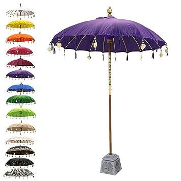 Parasol balinais   Style Vintage, rétro   Parapluie de jardin