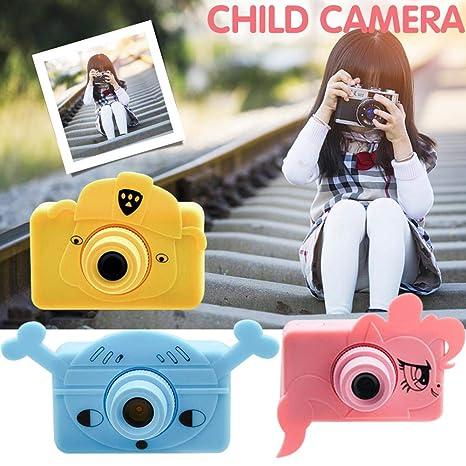 Camara Infantil Digital - 1080P 2 Pulgadas HD Mini Silicona Blanda ...