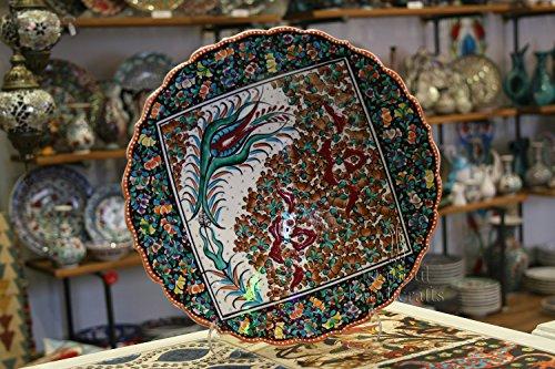 Iznik Design Ceramic Plate - 30 Cm/12 '' (Imperial Plate Of Persia compare prices)