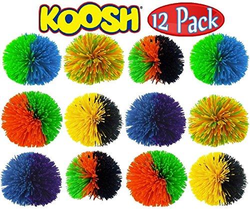 Mondo Ball - Koosh Balls Multi-Color Gift Set Bundle - 12 Pack