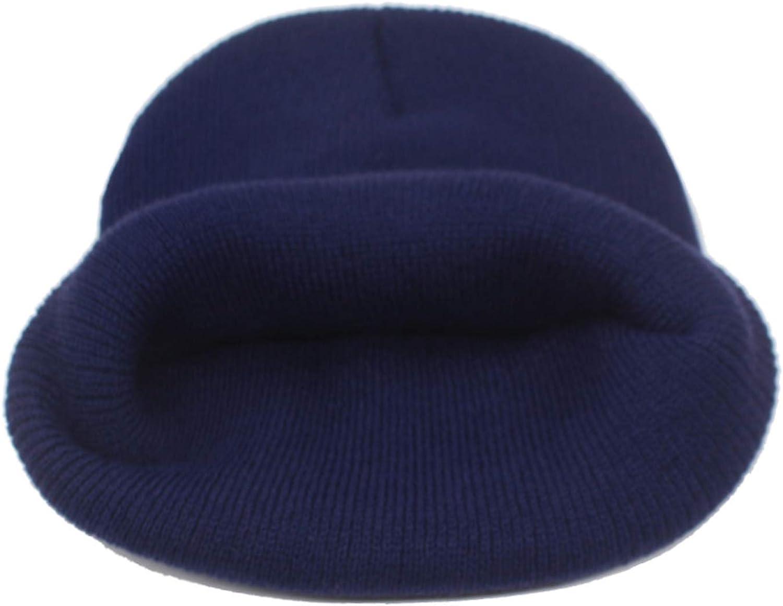 Ron Kite Winter Knitted Hat Women Hats for Men Black Solid Warm Soft Gorros Bonnet Female Beanie Winter Hat Cap