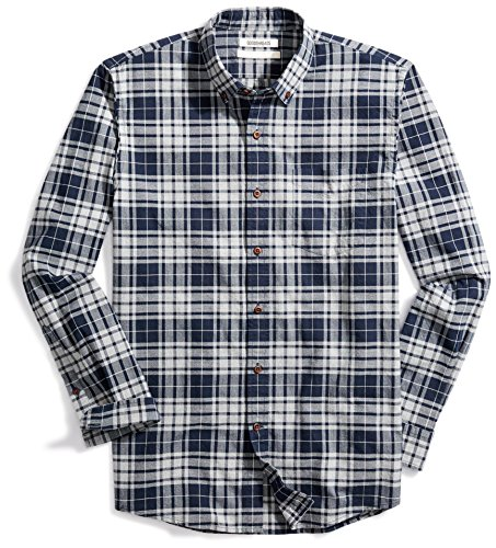 Goodthreads Men's Standard-Fit Plaid Oxford Shirt