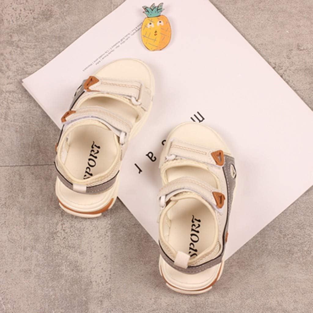 ❤️Rolayllove❤️ 3-12Y Girls Open Toe Beach Sandals Summer Fashion Flat Flower Shoes Princess Sport Sandals