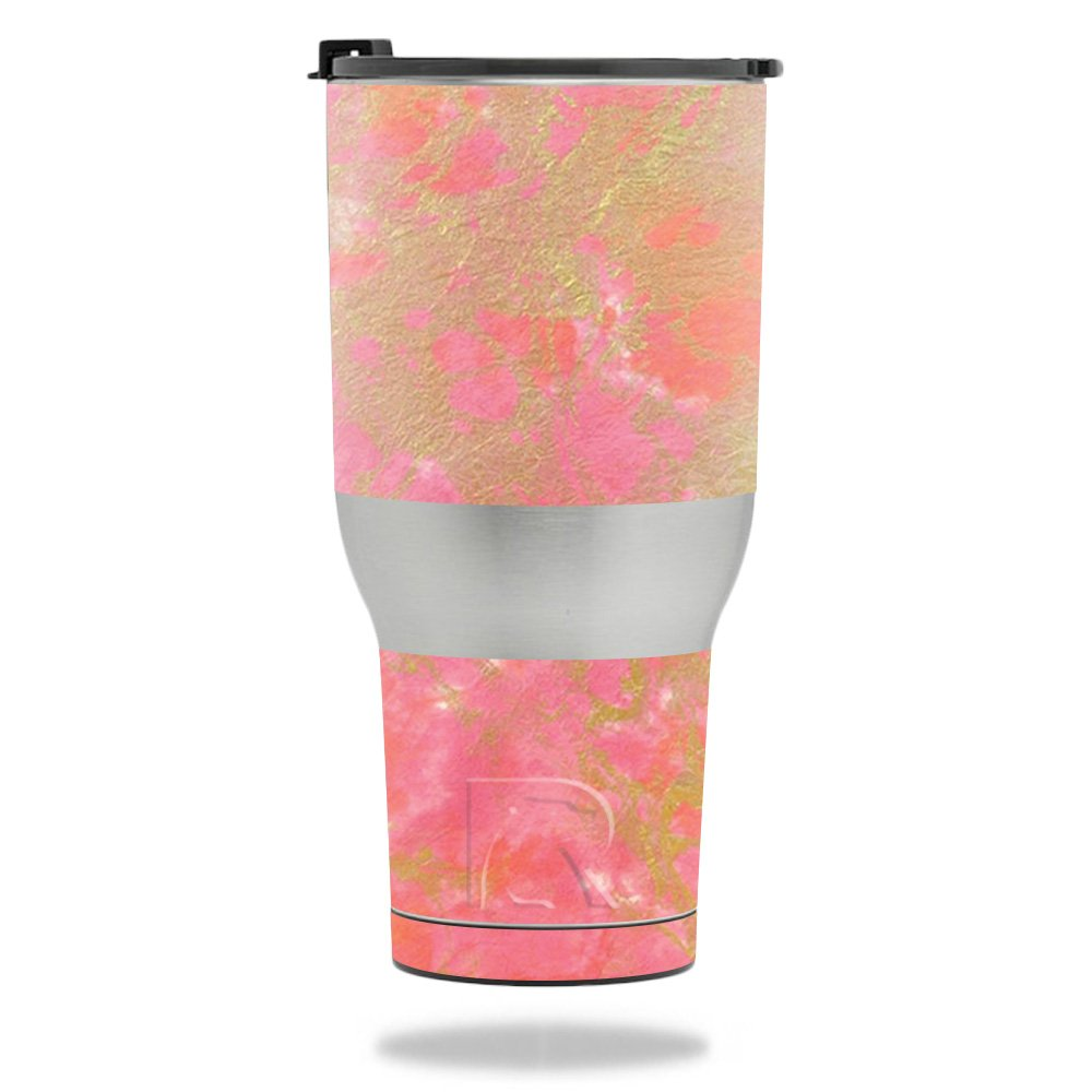 MightySkins Skin For RTIC Tumbler 40 oz. (2017) - Thai Marble | Protective, Durable, and Unique Vinyl Decal wrap cover | Easy To Apply, Remove, and Change Styles | Made in the USA by MightySkins