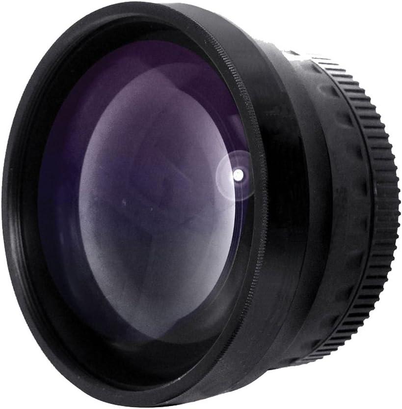 Includes Lens Adapter Optics 2.0x High Definition Telephoto Conversion Lens for Panasonic Lumix DMC-FZ48