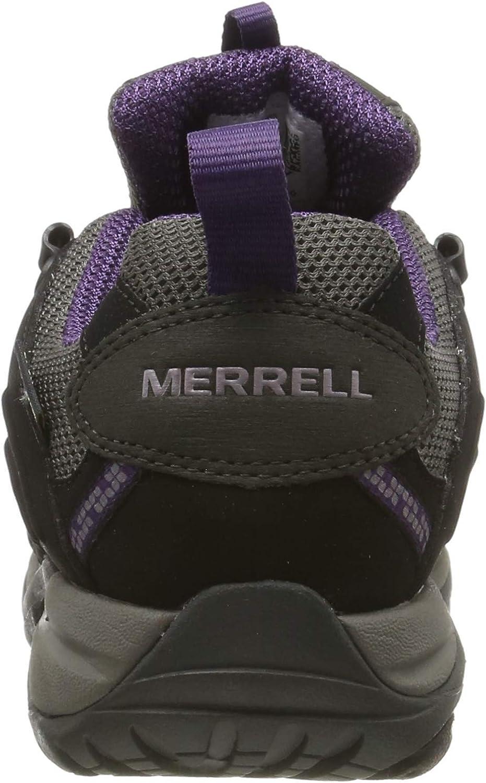 Merrell Siren Sport GTX, Stivali da Escursionismo Donna Multicolore Black Perfect Plum