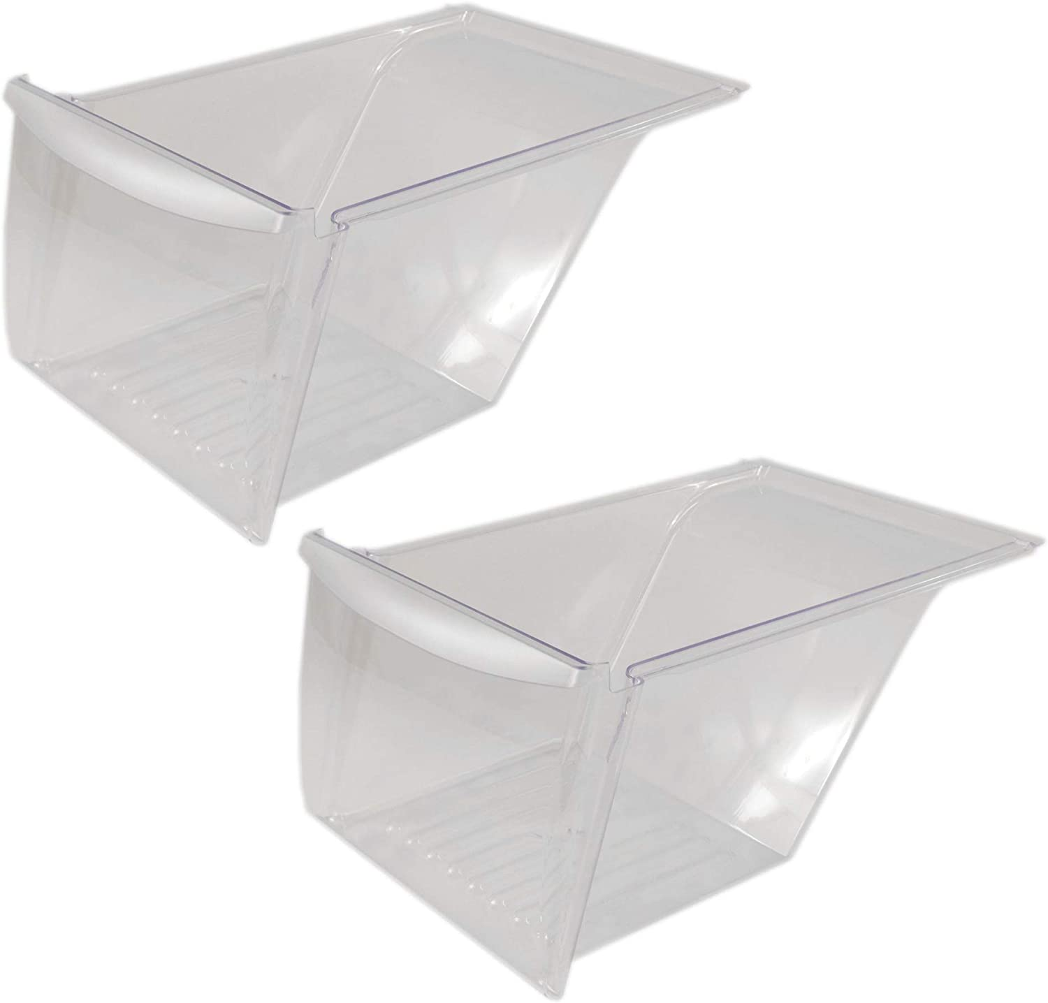 240337103 Refrigerator Crisper Drawer Genuine Original Equipment Manufacturer (OEM) Part, 2-Pack