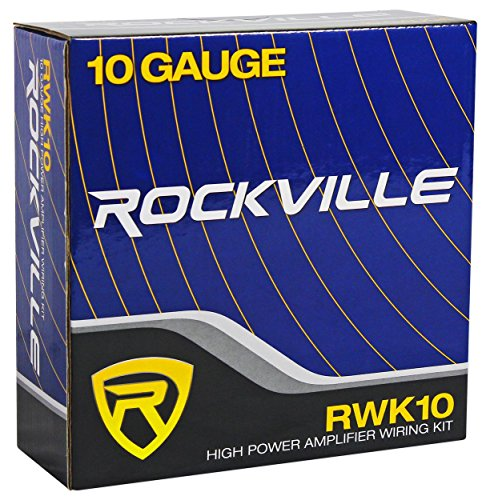 Rockville RW8CA 8'' 600 Watt Under-Seat Slim Amplified Car Subwoofer +Wire Kit by Rockville (Image #5)