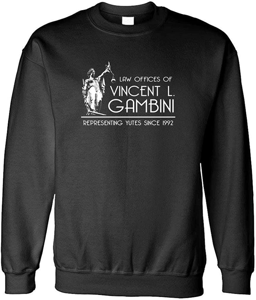 Fleece Sweatshirt yoots Guacamole Law Offices of Vincent GAMBINI
