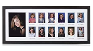 Pearhead School Days Graduation Frame, Celebrate Milestones By Sharing Photos from Kindergarten to Graduation, Great Centerpiece for Graduation Party