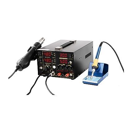 Stamos Soldering - S-LS-1 Basic - Estación de soldadura - SMD -