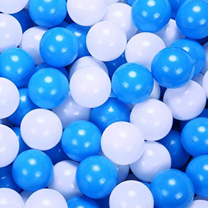 PlayMaty Ball Pit Balls 2.36inches Phthalate/&BPA Free Plastic Ocean Balls for Kids Toddlers and Babys for Playhouse Play Tent Playpen Pool Party Decoration Pack of 70