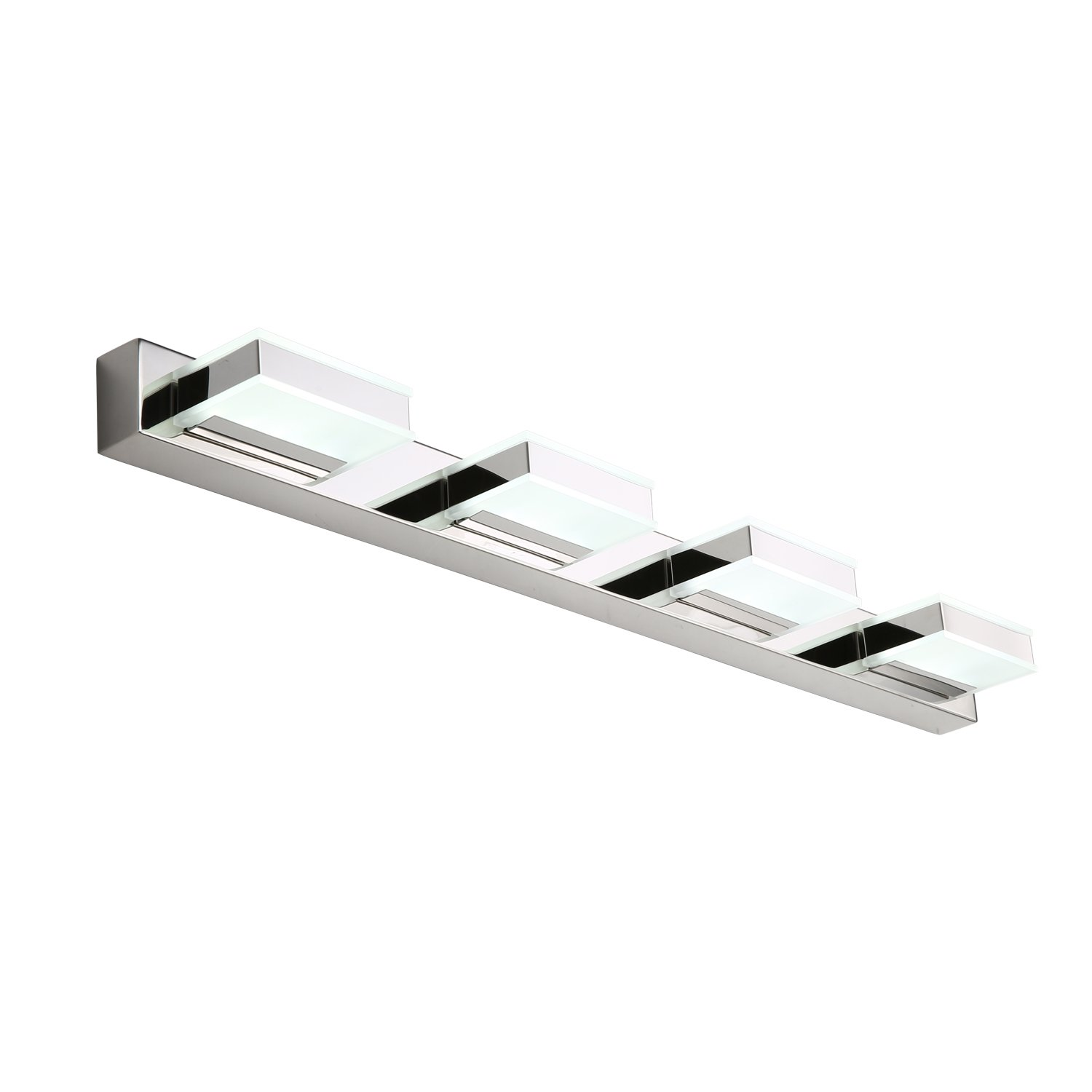 mirrea 16W Modern LED Vanity Light in 4 Lights, Cold White by mirrea (Image #1)