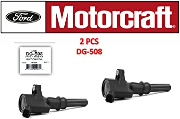 Motorcraft DG508 Ignition Coil for Ford 4.6L 5.4L V8 DG457 DG472 DG491 CROWN VICTORIA EXPEDITION F-150 F-250 MUSTANG LINCOLN MERCURY EXPLORER DG-508 3W7Z-12029-AA set of 8