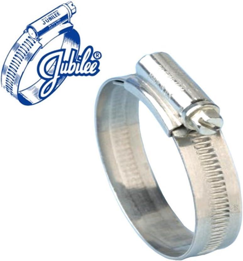 GENUINE JUBILEE CLIPS MILD STEEL FROM 25MM TO 90MM