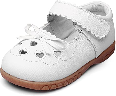 Toddler//Little Kid T-JULY Breathable Comfortable Summer Mary Jane Shoes Girls Ballet Flats with Strap