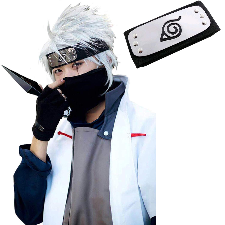 Headband for Naruto Leaf Village Ninja Kakashi Cosplay Accessories