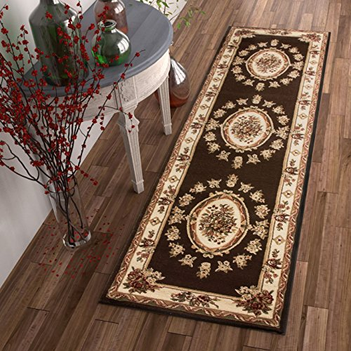 Well Woven 36372 Timeless Le Petit Palais Traditional Medallion Brown Rug 2