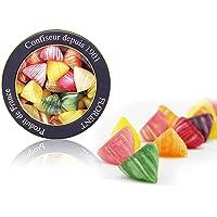 Florent 费罗伦 双子座四角糖水果糖 250g(法国进口)(亚马逊自营商品, 由供应商配送)