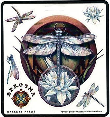 "Fairy with Dragonfly Decal Sticker JDM Funny Vinyl Car Window Bumper Truck 7/"""