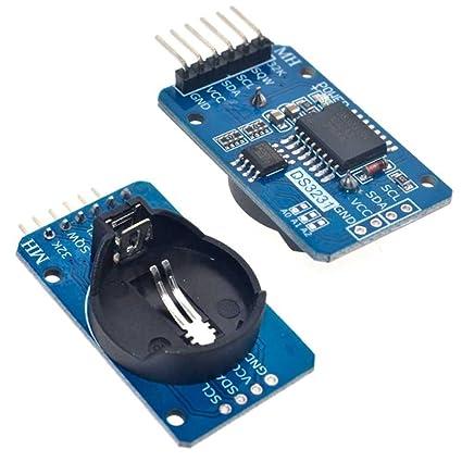 Ociodual Modulo Arduino Reloj de Precision DS3231 con Pila ...