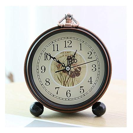 Reloj clásico Reloj de mesa Vintage Número romano Sala de estar ...
