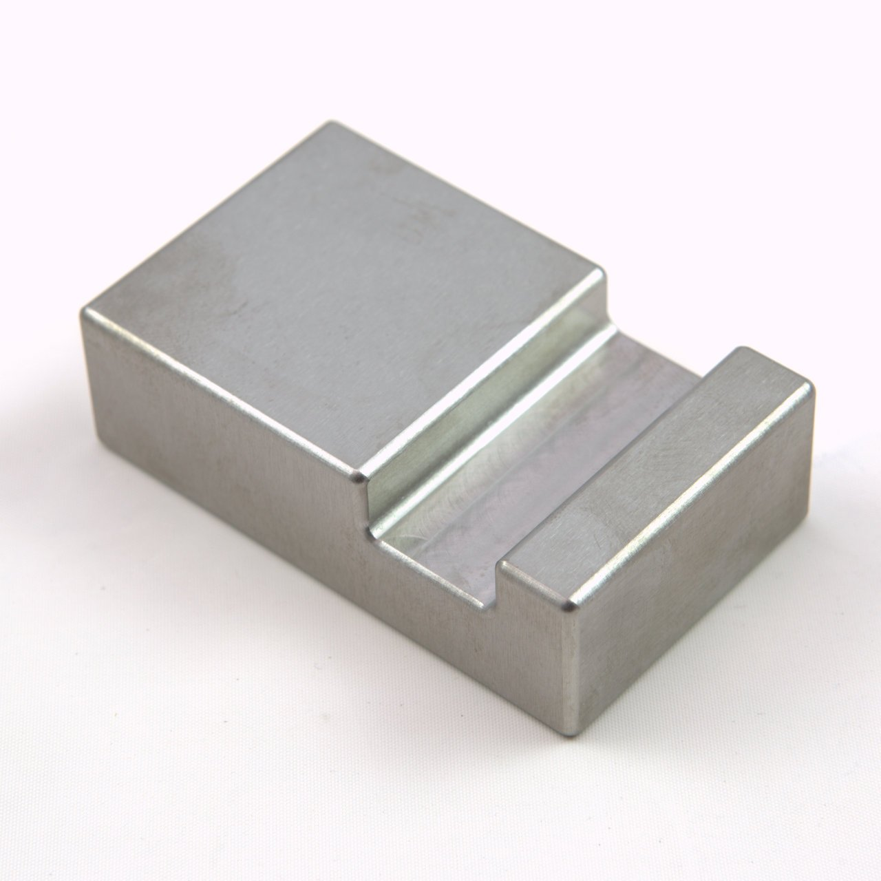 Tungsten Ergonomic Bucking Bar BB-5: 1.67 lbs, Notched Side 3/4'' x 1.5'' x 2.5''