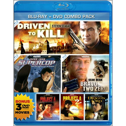 3-Film Action Collection [Blu-ray] with 3 Bonus DVD Features