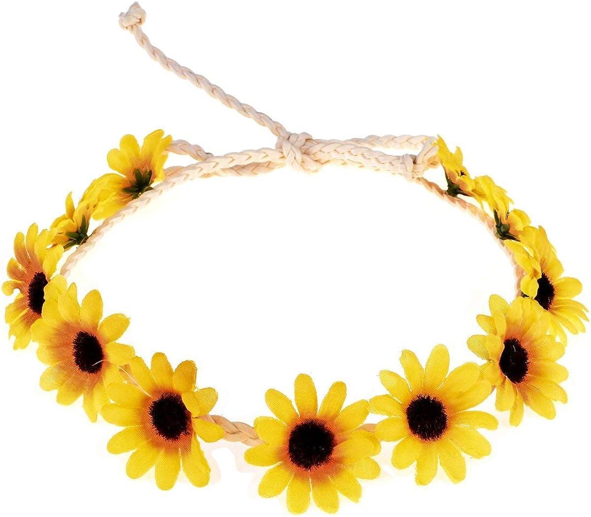 Sunflower Hoop Wreath