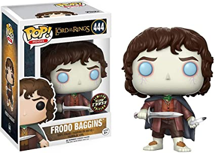 Movies Vinyl Figure /& 1 POP BCC9402G2 Compatible PET Plastic Graphical Protector Bundle : Lord of The Rings x POP Chase Edition Funko Frodo Baggins #444 // 13551 - B