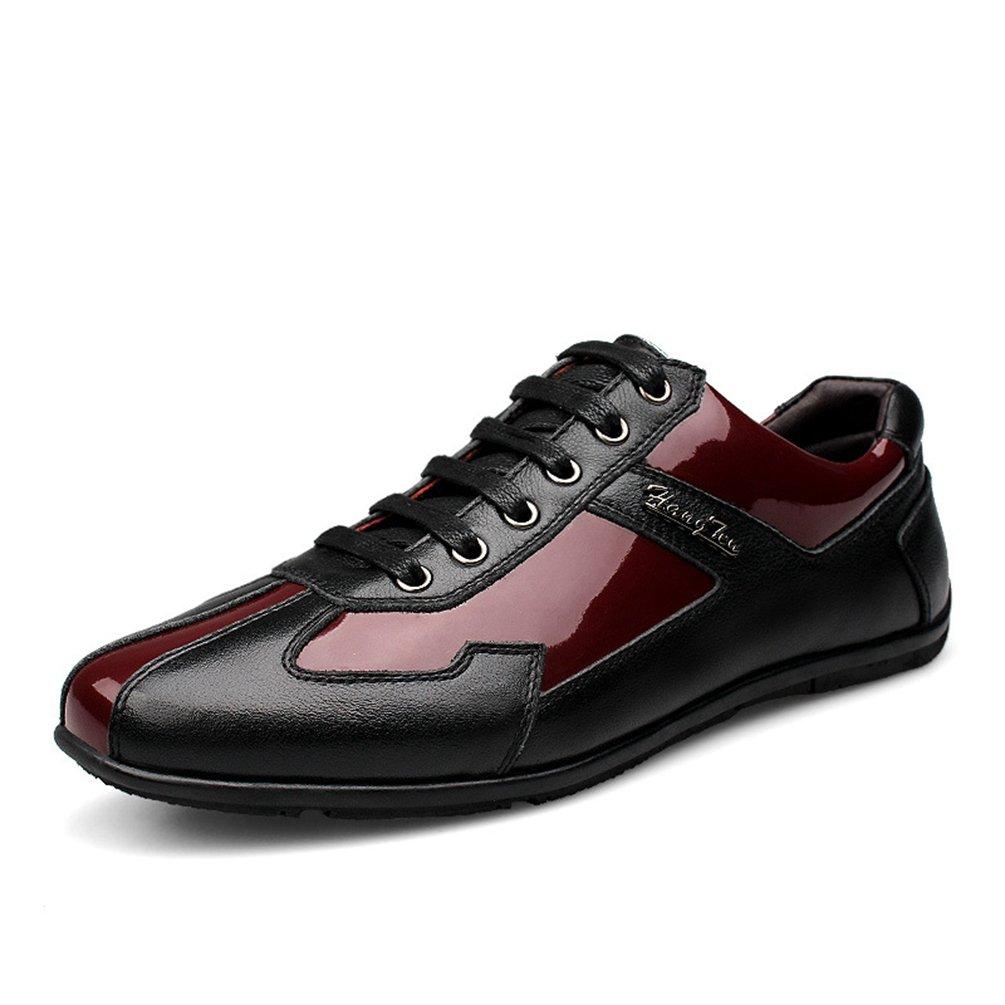Feidaeu Zapatos de Material Sintético Hombre 46 EU=(280mm)|Rojo