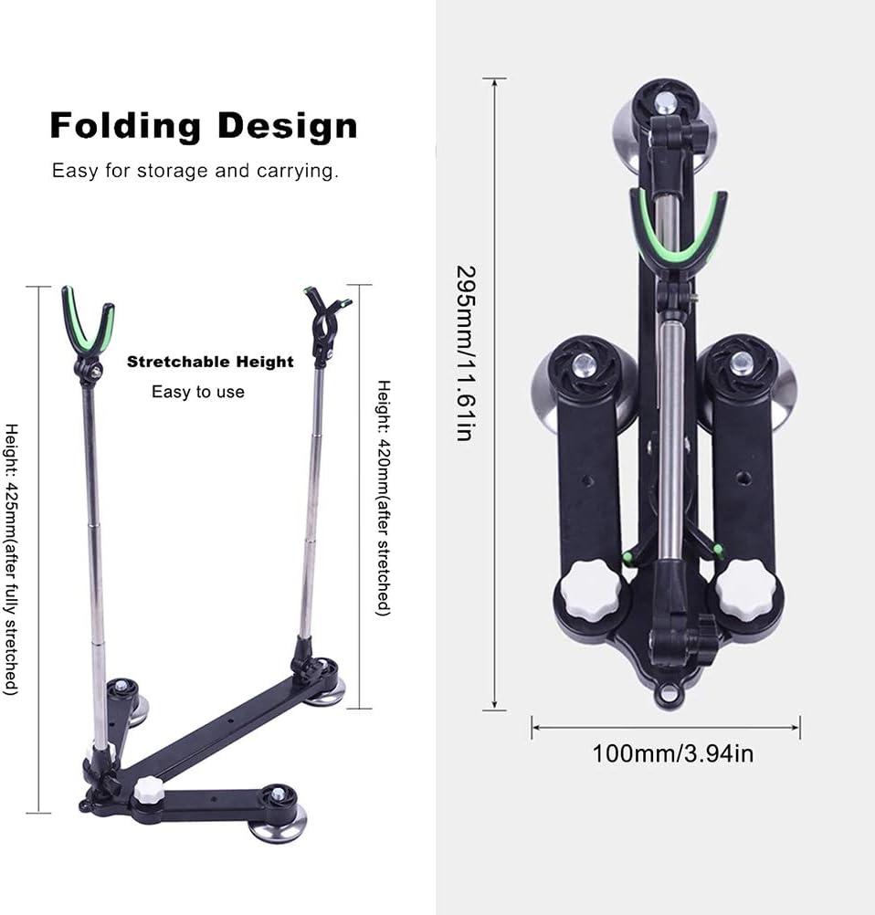 FuYouTa Fishing Rod Holder Fishing Rod Rack Adjustable Fishing Rod Pod Stand Holder Fishing Tackle Fishing Accessory
