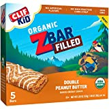 Cheap Clif Kid ZBAR Filled – Organic Energy Bar – Double Peanut Butter, 1.06 Ounce Snack Bar, 5 Count
