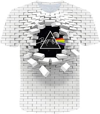 Camisa de Estilo geométrico Simple Street Street 3D ...