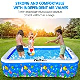 Taiker Inflatable Swimming Pools, Kiddie Pools, 93