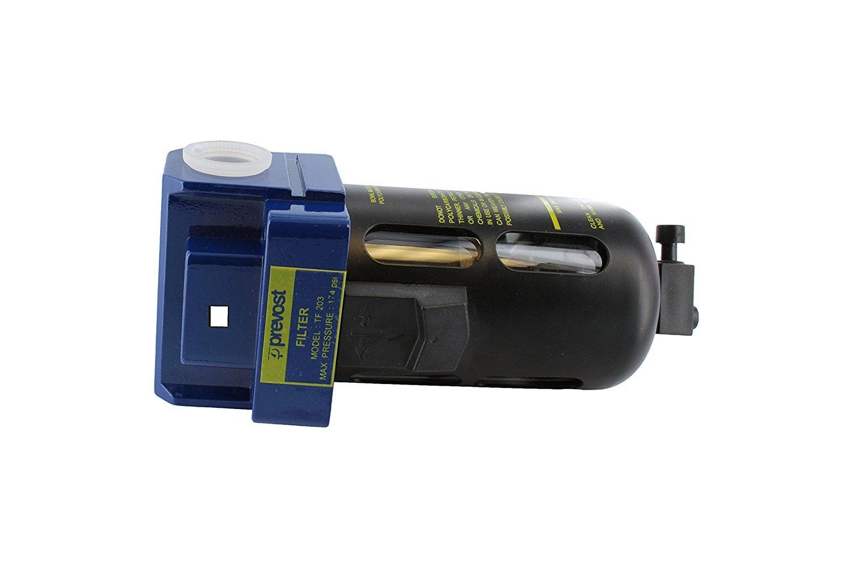 Prevost TF 203 Compressed Air Inline Moisture Trap Water Separator Filter 1/2' FNPT