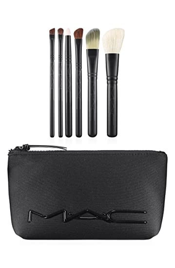Buy Mac M·a·c Look in a Box Brush Kit Basic 6 Pc + Neoprene Cosmetics Bag Online at Low Prices in India - Amazon.in